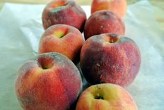 """(Last Updated On: August 3, 2013)Yesterday afternoon, I visited the Saline Farmer's Market and was delighted to see Michigan grown peaches there. The peaches I bought are from Kapnick Orchards, one of the vendors I reguarly buy from. These peaches selling for $4 a quart had a sign next to them calling them """"Flamin' Fury"""". …"""