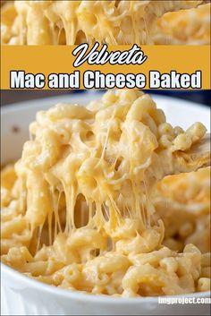 Mac And Cheese Recipe Baked Velveeta, Best Homemade Mac And Cheese Recipe, Homemade Velveeta, Velveeta Recipes, Gluten Free Mac And Cheese, Best Macaroni And Cheese, Mac Cheese Recipes, Baked Cheese, The Best Mac And Cheese Recipe Ever