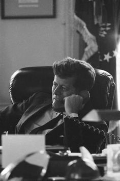 JFK during the Steel Crisis.