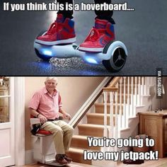 Hoverboards...