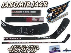 Jaromir Jagr Capitals Stick