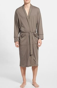 Give Dad an in-home rest and relaxation day. Daniel Buchler Peruvian Pima Cotton Robe available at #Nordstrom