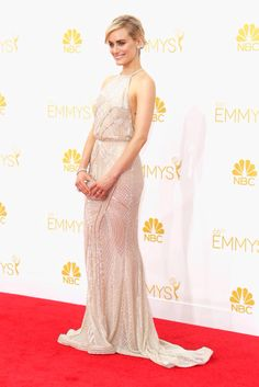 2014 Emmys Red Carpet: Taylor Schilling