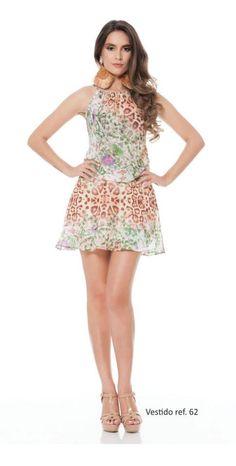 Vestido Azzoug. Primavera/verão 2015.
