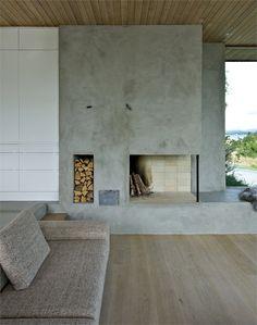 Hytte Dalene, Rennesøy, 2009 love the fireplace