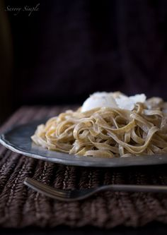 Have you ever made homemade pasta? It's easy! Check out this recipe for Whole Wheat Linguini.