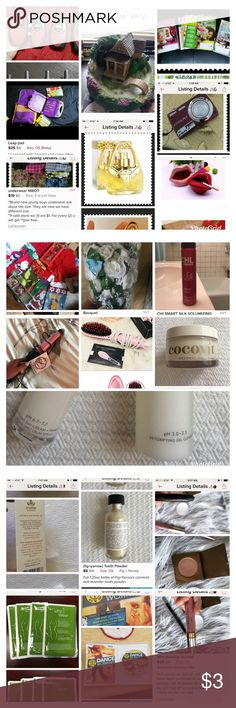 """PROHIBITED ON POSH For the new Posh family members and those who need a refresher:  Here are some examples of what cannot be sold on PoshMark. When in doubt, ask!   🛑No used or swatched makeup 🛑No used underwear or w/o tags 🛑No liquids, aerosols, lotions, nail polish 🛑No home decor or blankets 🛑No office supplies 🛑No stuffed animals 🛑No replicas (even if you say """"replica"""")  🛑No electronics 🛑No gift cards/rewards cards Accessories"""