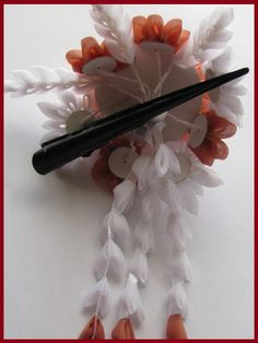 New Kanzashi Hair Clip 4.8'' 12cm Flower Gifts by AKazin