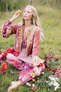 Queen of Hearts Velvet Jacket - Rose Gold Chasing Unicorns, Flower Farmer, Bunch Of Flowers, Velvet Jacket, Creative Outlet, Growing Flowers, Queen Of Hearts, Vintage Fabrics, Textile Design