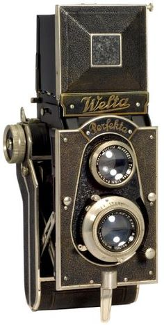 Welta Perfekta, 1934. I've always wanted a vintage camera!