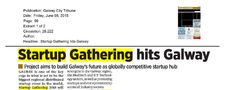 Galway: Galway City Tribune- Startup Gathering hits Galway