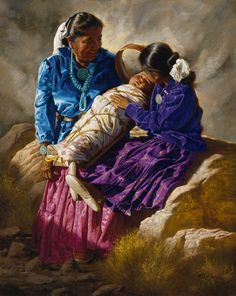 Alfredo Rodriguez (AMERICAN INDIAN ART) Native American Paintings, Native American Artists, Native American History, Native American Indians, Indian Paintings, Native Indian, Native Art, Double Exposition, American Indian Art