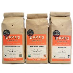 Light + Medium Roast Sampler / Dave's Coffee