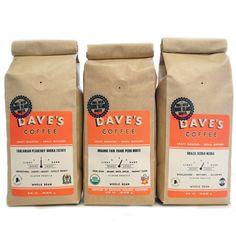 Light + Medium Roast Sampler / Dave's Coffee