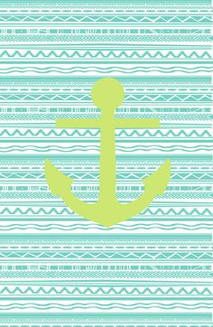 You are the anchor to my soul! Anchor Wallpaper, Mint Wallpaper, Nautical Wallpaper, Wallpaper For Your Phone, Computer Wallpaper, Cellphone Wallpaper, Pattern Wallpaper, Iphone Wallpaper, Chevron Anchor