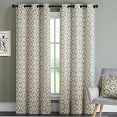 Found it at Wayfair - Dalton Curtain Panel