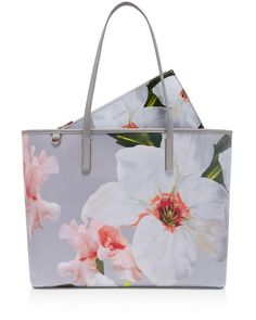 Ted Baker Cecie Chatsworth Canvas Shopper