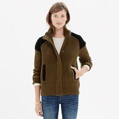 Uphill Sweater-Jacket