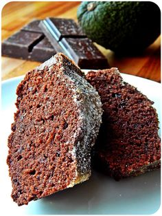 Avocado-Schokoladenkuchen vegan