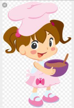 Chef ni a caricatura buscar con google country - Nina cocinando ...