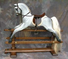 Arab Rocking horses - traditional dappled grey rocking horses by Legends…