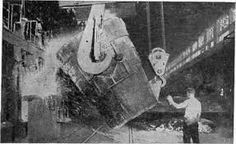this picture shows us how steel was produced in 1860-1900