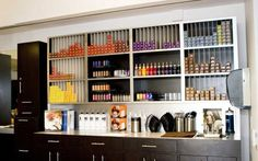hair salon retail displays | Salon Furniture IDI: Salon and Day Spa Gallery of salon equipment and ...