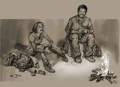 The Last of Us-Aw, Joel and Ellie :)