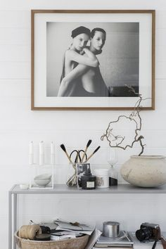 Shelving in the home of Swedish stylist Pella Hedeby. Photo: Sara Medina Lind - My Home Magazine.