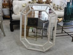 Palm Beach Regency Faux Bamboo Mirror