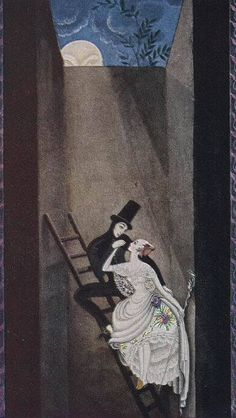 Kay Nielsen - The Shepherdess and the Chimney Sweep