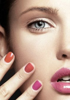 Get into nail art and let your hands do the talking this spring. Choose bright, vibrant hues such as pink or orange for the perfect burst of colour this season.