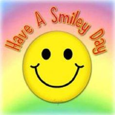 a Smiley Day. Smiley Emoji, Emoticon, Smile Face, Make Me Smile, Love Smiley, E Greetings, Keep Smiling, Smiling Faces, Happy Faces