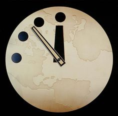 The doomsday clock is closer to midnight than during the Cuban missile crisis...but perhaps you're too young to remember that?...look it up...it was scary...