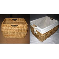 @Overstock.com - Skip the file cabinet and use a stylish seagrass file basket instead. This basket is dimensioned to hold your paperwork and includes a pair of built-in metal bars to accommodate hanging files. The basket's cotton liner is removable for cleaning.http://www.overstock.com/Home-Garden/Seagrass-File-Basket-with-Liner/3927293/product.html?CID=214117 $32.88