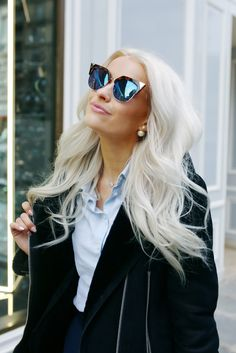 I cannot get enough of these Fendi sunglasses! they are the perfect finishing such to any outfit for me right now. See the full outfit over on www.inthefrow.com