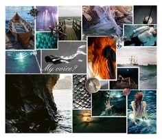"""""""The Little Mermaid// Ariel"""" by thehelsinghatter ❤ liked on Polyvore featuring art"""
