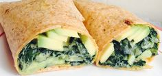 Perfect Weekday Lunch: Kale-Avocado Wrap With Dijon Dressing