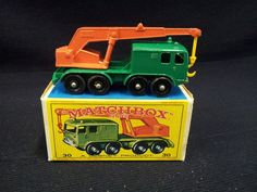 MATCHBOX LESNEY NO.30 - 8 WHEEL CRANE