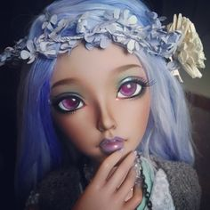 Fairyland Feeple60 BJD (Celine sculpt) by Ravenwolf