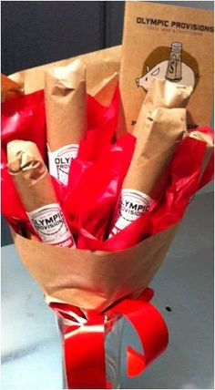 Salami Bouquet -- Olympic Provisions