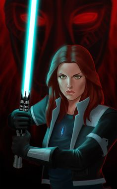 This is a character than I have used in both tabletop RPGs and in SWTOR. I have played him as both Sith and Jedi so I tend to think of him as conflicted. Which side will emerge today?