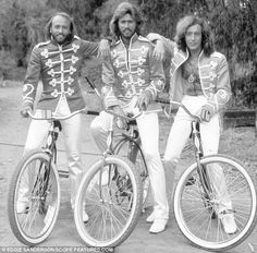 "BEE GEES: great harmonies...Iloved them in the ""sgt Pepper's Lonley Hearts Club Band"" movie!"
