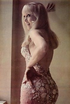 Barbara Eden's back