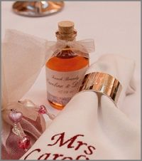 Miniature 50ml Glass Demijohn Bottles with corks for Wedding Favors or Gifts. 154