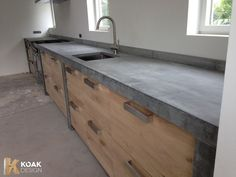 BETON - Koak Design Kitchens
