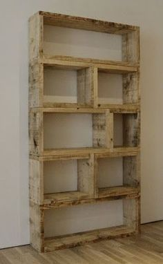 Pallet bookshelf ....... More Amazing #Bookshelf and #Woodworking Projects, Tips & Techniques at ►►► http://www.woodworkerz.com