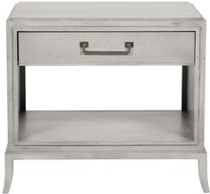 Vanguard Furniture: C307L Barrett Lamp Table nightstand end side