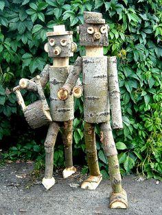 Деревянные дачные поделки. Обсуждение на LiveInternet - Российский Сервис Онлайн-Дневников