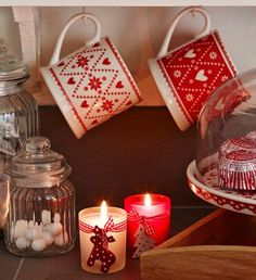 House of Fraser  have a delicate selection of Christmas decorations and wrapping papers in their 'Through the looking glass'  theme in pal...
